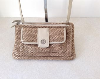 Giani Bernini Crossbody Bag With Genuine Leather Trim