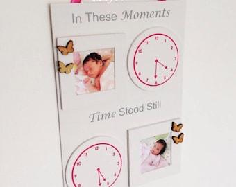 Special moments clock plaques