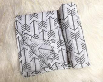 Arrow Double Gauze Swaddle Blanket