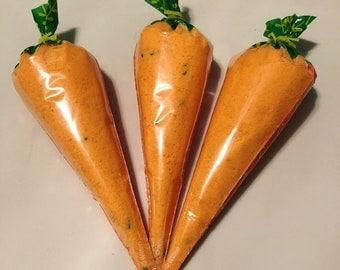 Carrot Crumbs bath bomb dust