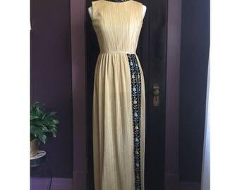 SALE Spun Gold Dress