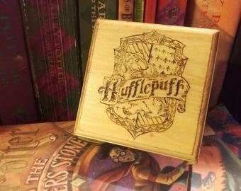Harry Potter Inspired Hufflepuff Trinket Box