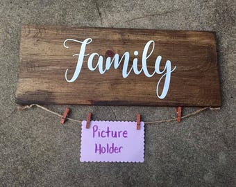 Family Picture Hanger