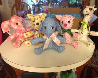 Stuffed Animals, zoo, animals,