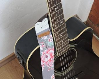 Guitar strap * Rosmarie *.