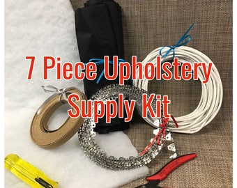 7 piece Upholstery Supply kit with Tools