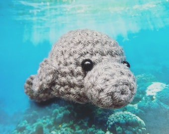 Little Manatee Amigurumi