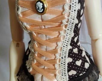 Minifee Corset Chocolate Hearts