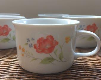 Vintage Soup Cups