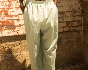 Vintage Mint Green Pants