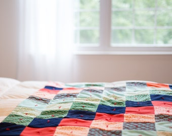 9 Patch Baby Quilt