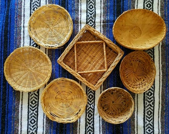 Wall Basket Set - Set of 7