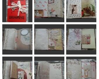 Vintage junk journal girl