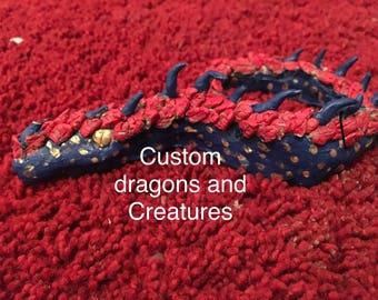 Custom clay creature  (paint is optional)