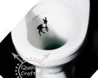 Boy's and Men's Toilet Target, Potty Target, Potty Training, Aim, Toilet Target, Men's Gift, Man Cave, Garage, Buck