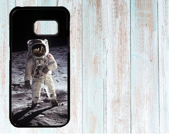 Samsung Cover, Samsung Case, Custom Samsung Cover, Personalised Phone Cover, Case for Samsung Galaxy S3/S4/S5/S6/S7, moon, cosmonaut, fun