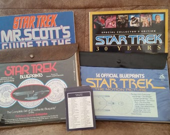 Star Trek Blueprints, Cards and Magazines
