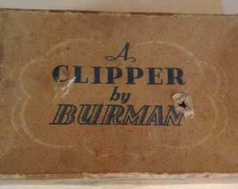 Vintage, Hair Clipper, Barber Clipper, 1940's, Burman, Collectable