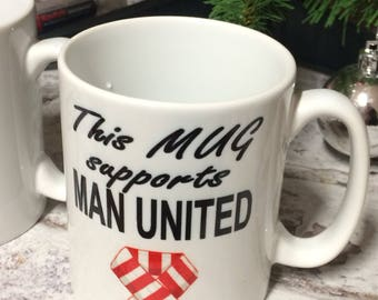 This Mug Supports Leeds United Hull City Manchester United etc