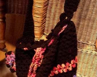 crocheted bag XL sale