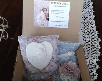 """The box gift """"tender"""" 100% handmade"""