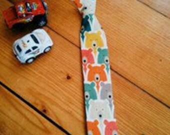 Children's Tie Bear Pattern