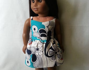 Dress for 18 inch dolls such as American Girl Dolls & My Life As Dolls