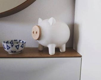 Adult piggy bank etsy Large piggy banks for adults