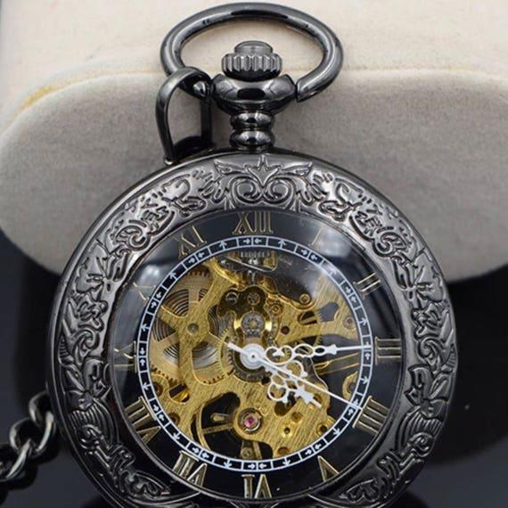 Titanium Pocket Clock