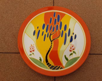 Lovely pair of Clarice Cliff ,Wedgewood Plates.