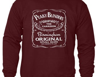 PEAKY BLINDERS Sweatshirt | The Garrison Birmingham Original Tee Best Quality