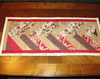 Braided  Quilted Table Runner