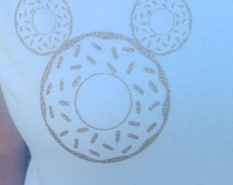 Mickey Mouse Donut Shirt