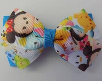 Tsum Tsum Girl's Hair Bow - Hair bow for girl, Accessory, Hair accessory, Disney's tsum tsum,