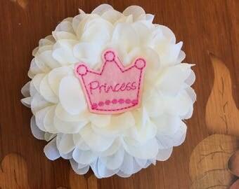Princess Flower Clip!