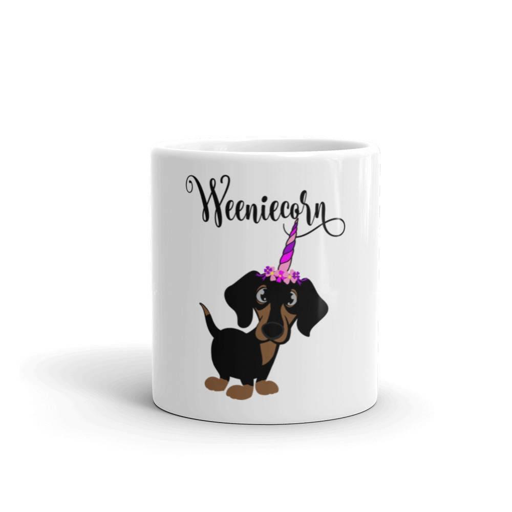 Weeniecorn Gift Mug Unicorn Lover Wiener Dog Coffee Dachshund 6gyf7b