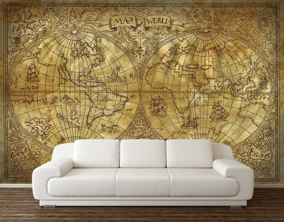 Wall Mural Vintage Decal by DreamVinyl