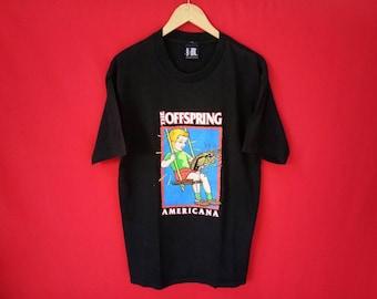 vintage The Offspring band music concert t shirt