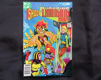 Shade The Changing Man #4 D.C. Comics 1977