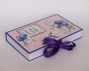 I Love You to the Moon and Back Card Box book Paper book box Gift box Postcard book Money box Handmade card-box