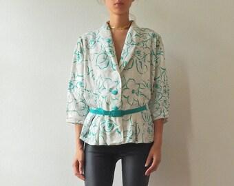 Blouse or jacket vintage pattern