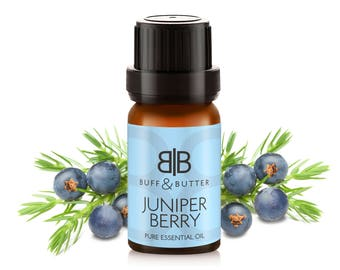 Juniper Berry Essential Oil 100% Pure Natural Fragrance Aromatherapy - 1ml Tester Vial, 10ml, 30ml, 50ml, 100ml Bottle