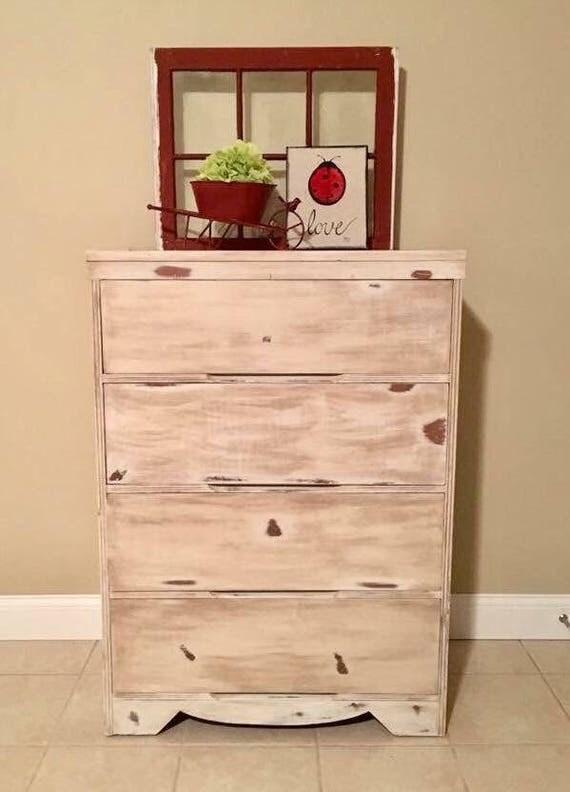 Rustic Dresser Shabby Chic Dresser Chest of Drawers