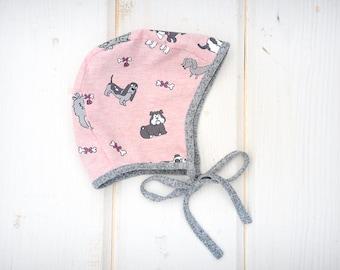 baby bonnet, girl bonnet, baby boy bonnet, baby hat, baby summer bonnet