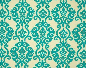 Luminary Turquoise by Waverly Sun N Shade Fabric Free shipping