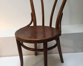 christmas giving 40 off antique oak bentwood chair by albert pick co in the
