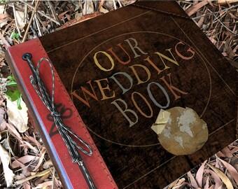 Our Wedding Book, Personalized Adventure Book, Wedding Guest Book, Wedding Album