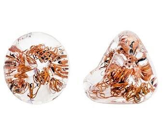 Murano Glass Ring by I Love Murano  'Hi Tech', Murano Glass, Glass Ring, Murano Glass Jewelry, Glass Jewellery, Bague Verre, Bague Murano,