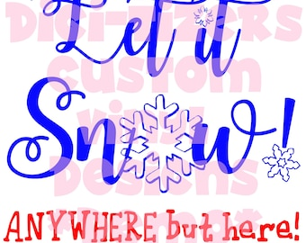 Digi-tizers Let it snow anywhere but here (SVG Studio V3 JPG)