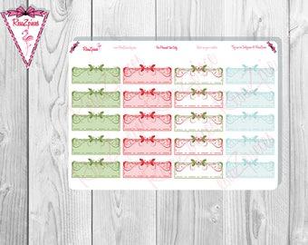 Christmas Floral - Quarter Boxes